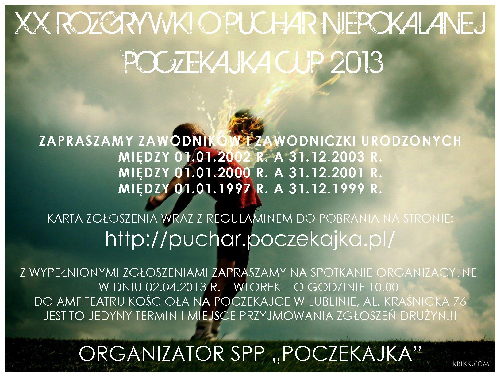 Mistrzostwa o Puchar Niepokalanej 2013