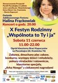 zaproszenie na Jubieluszowy Festyn Rodzinny 2016