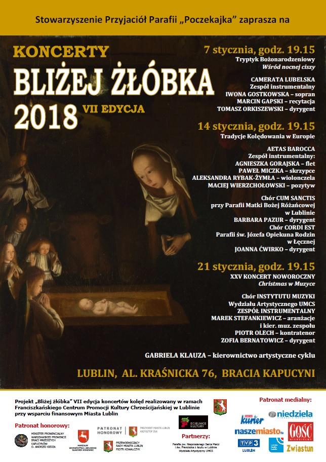 """VII edycja Koncertów """"Bliżej żłóbka"""" na Poczekajce"""