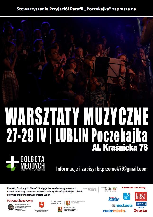Warsztaty wokalno-instrumentalne Golgota Młodych 2018