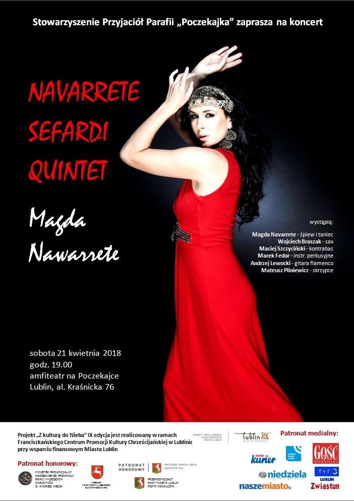 Koncert Magdy Navarette na Poczekajce