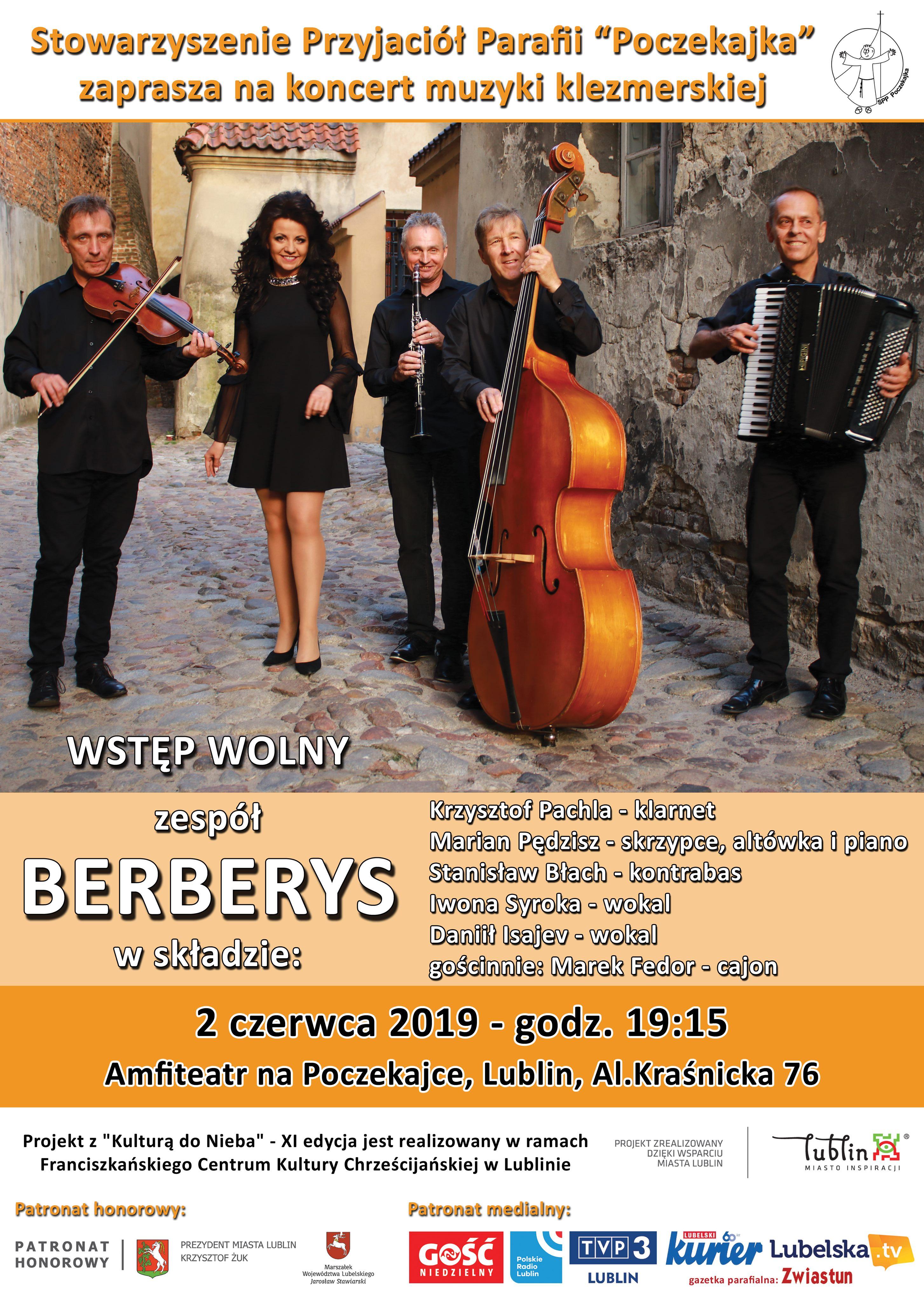 Koncert Zespołu Berberys