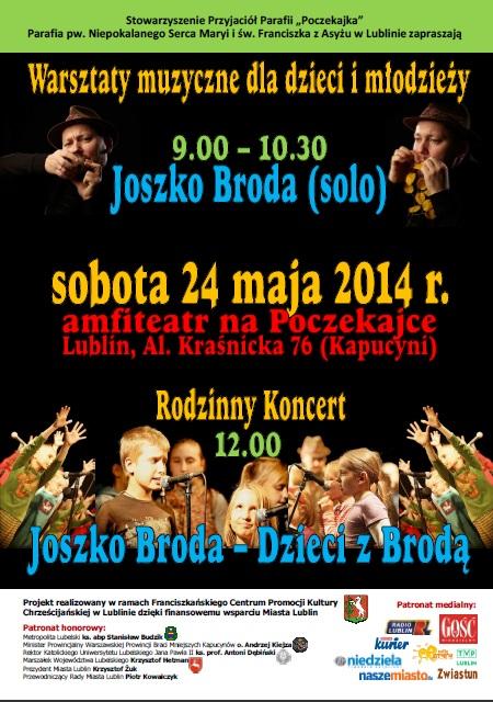 Warsztaty Muzyczne i Koncert Rodzinny - Joszko Broda, Dzieci z Brodą