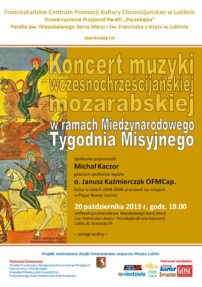 Koncert muzyki wczesnochrześcijańskiej