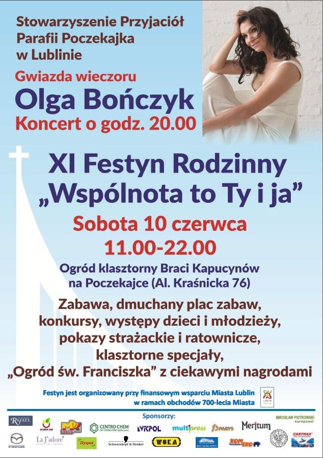Zaproszenie nas XI Festyn Rodzinny na Poczekajce