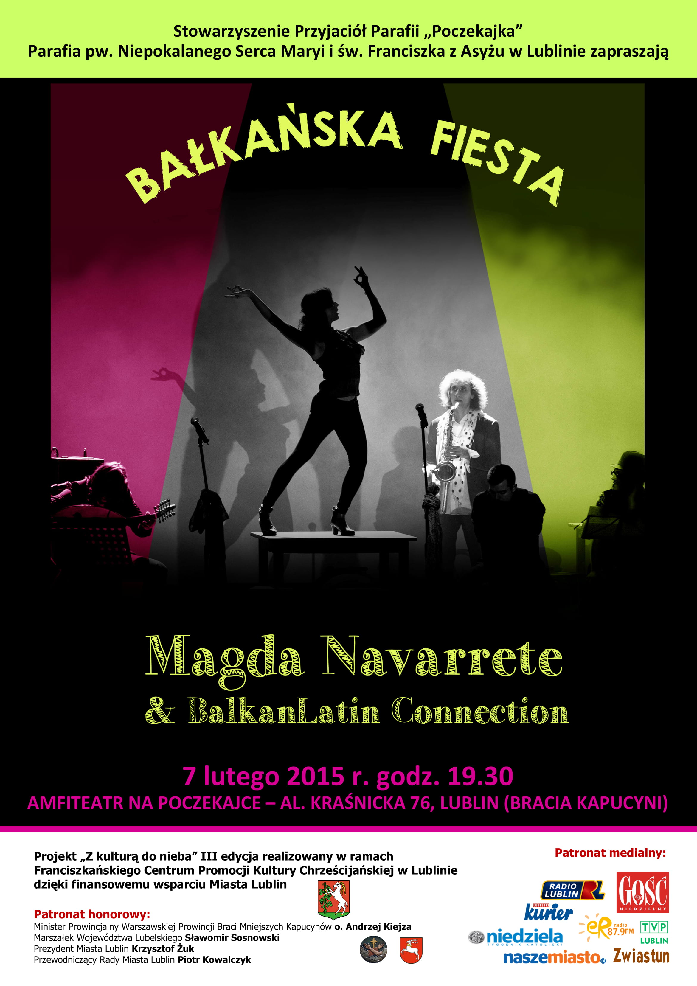 Bałkańska Fiesta na Poczekajce - przyjdź!!!