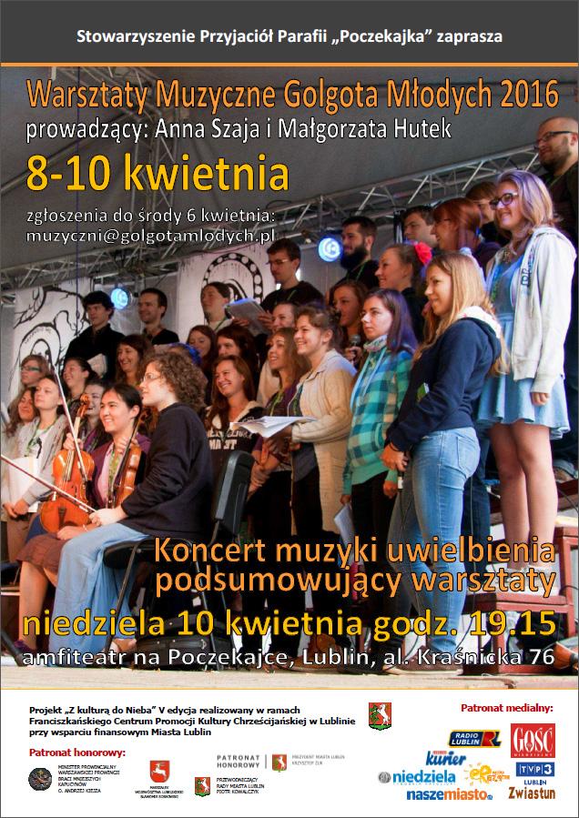 Warsztaty Muzyczne Golgota Młodych 2016