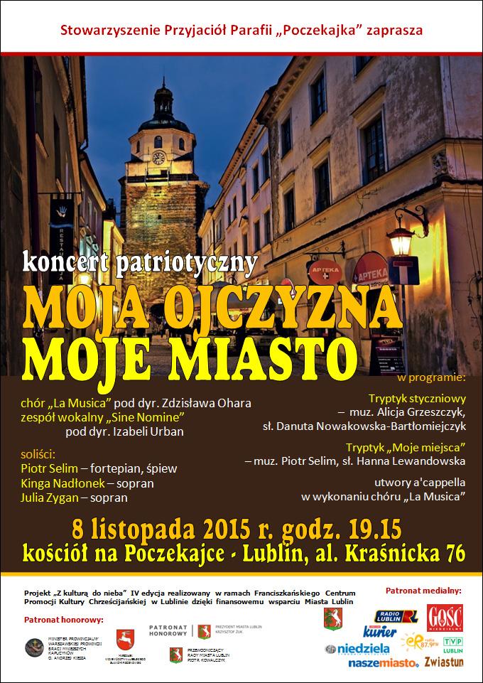 Koncert patriotyczny Moja Ojczyzna, moje Miasto