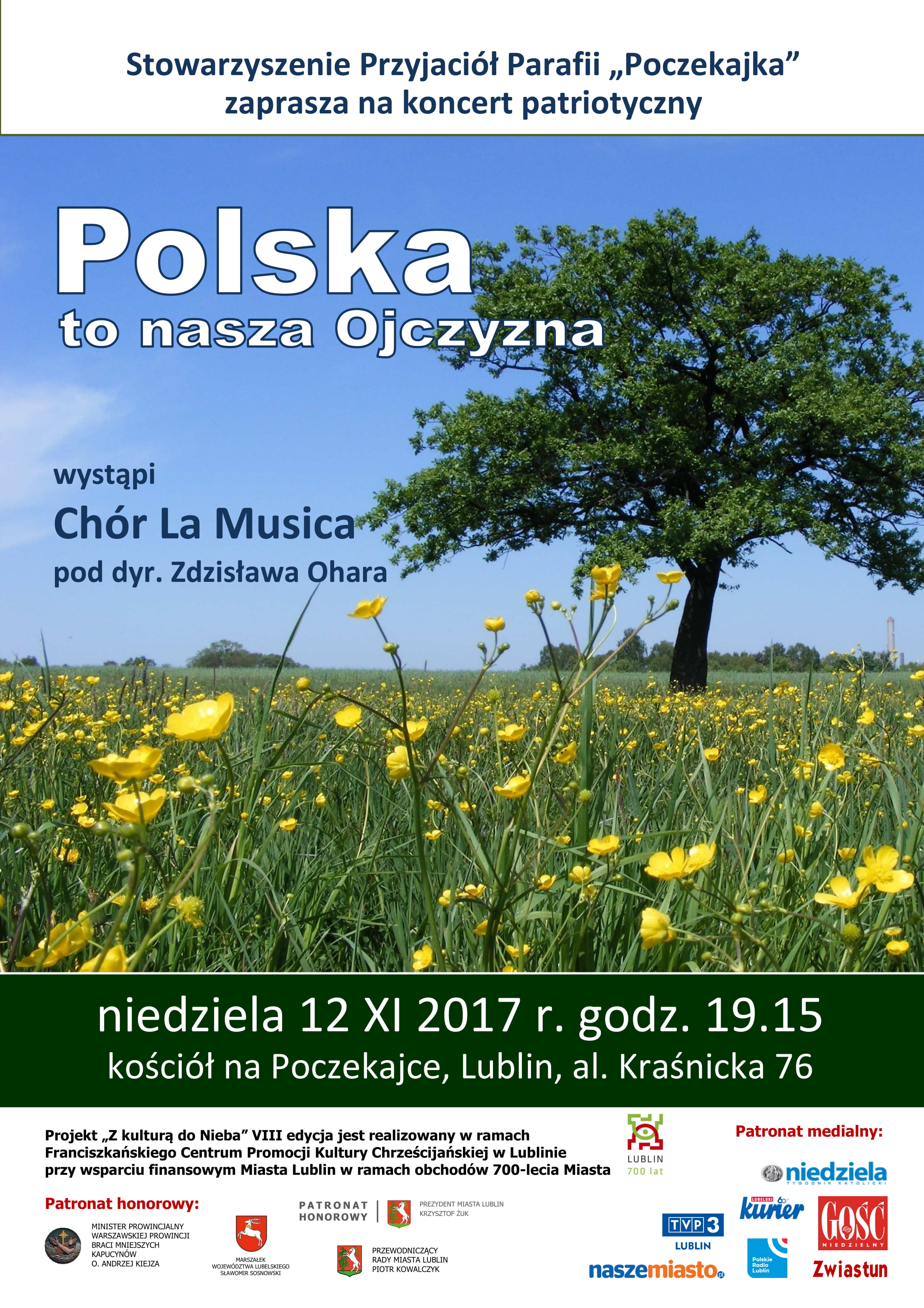 Koncert Patriotyczny Polska to nasza Ojczyzna