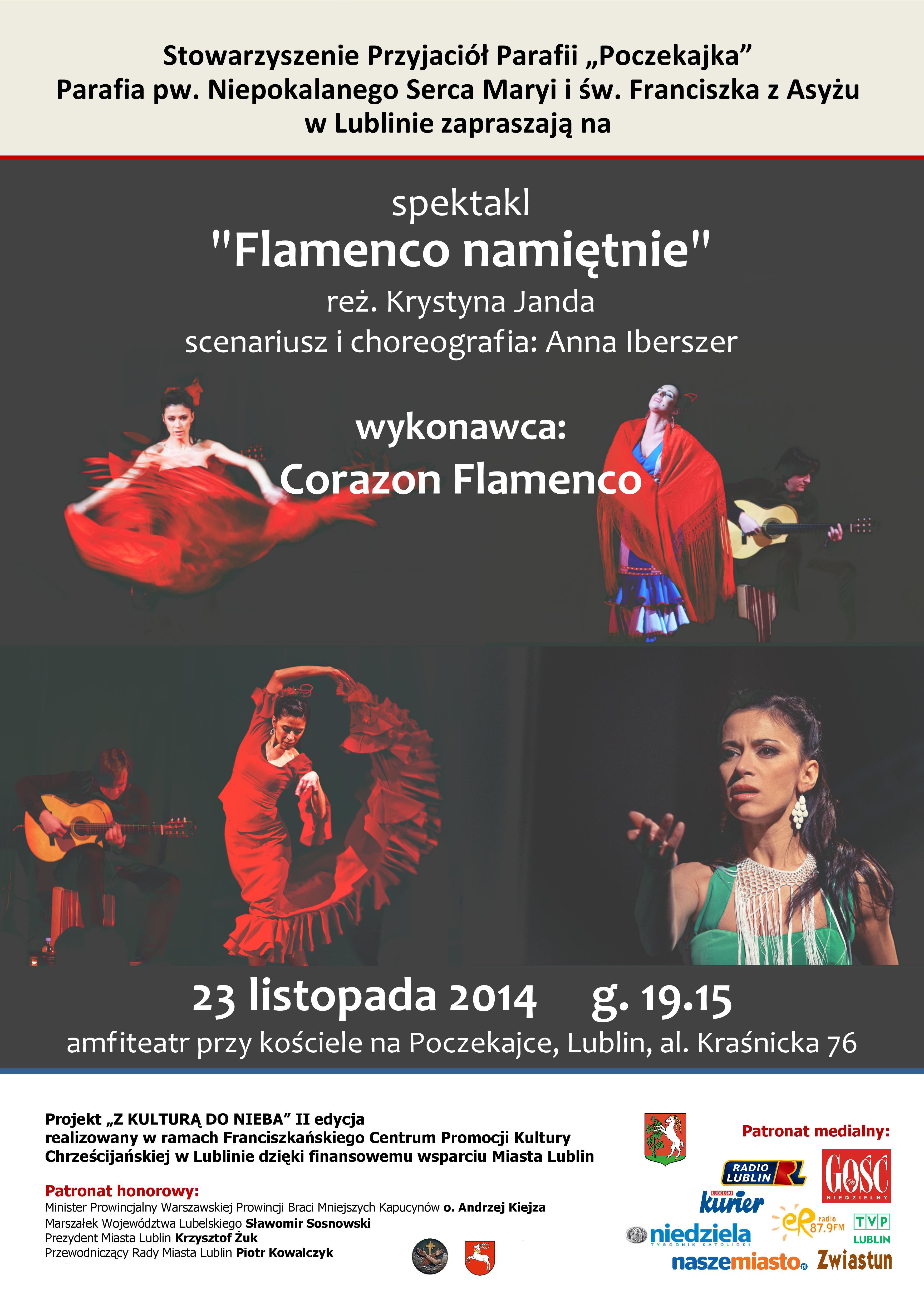 Spektakl Flamenco Namiętnie na Poczekajce