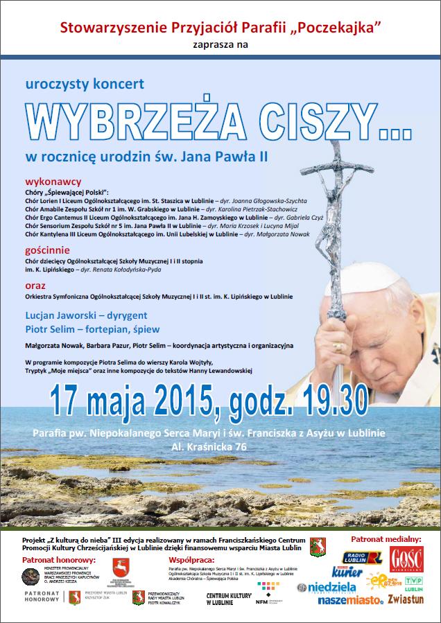 Koncert papieski: Wybrzeża ciszy...