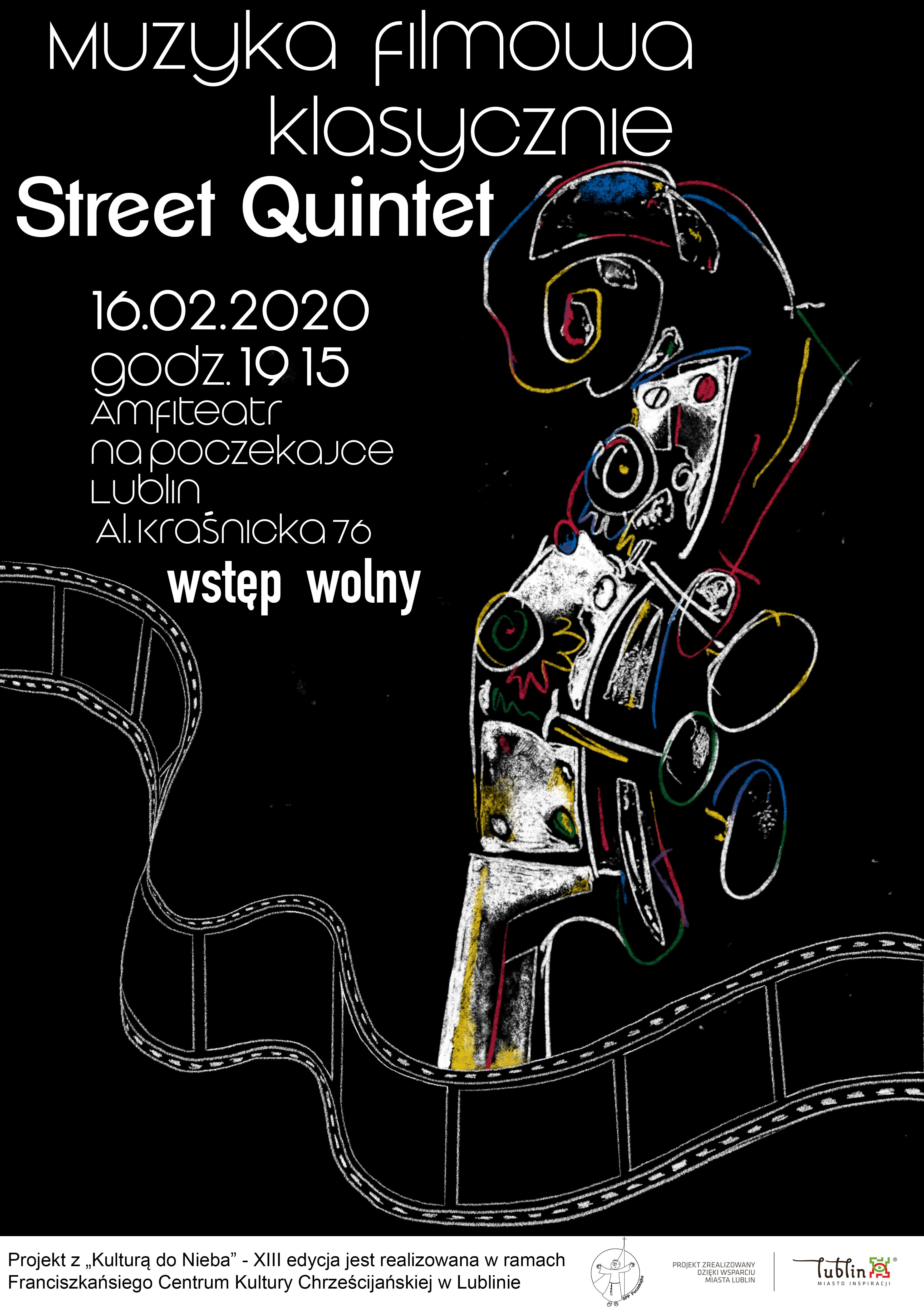 Muzyka filmowa klasycznie - Street Quintet