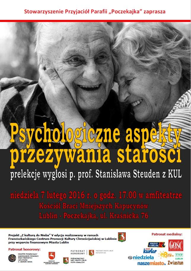 Zapraszamy na prelekcję o starości