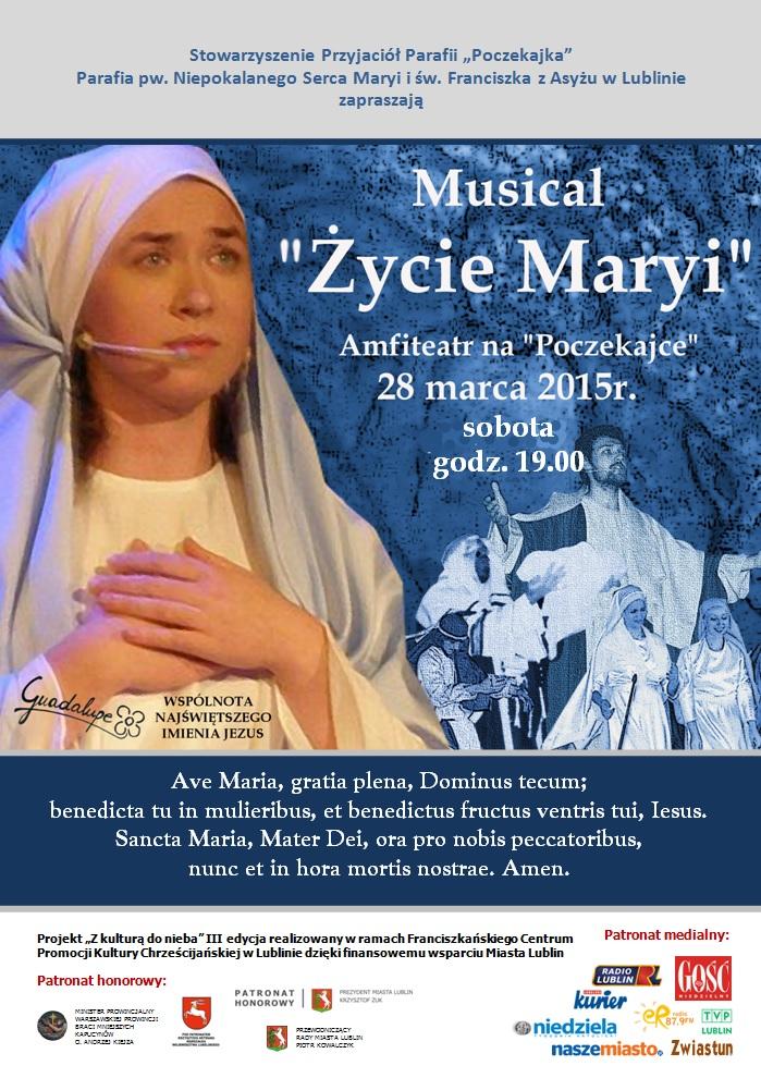 """Musical """"Życie Maryi"""" na Poczekajce"""